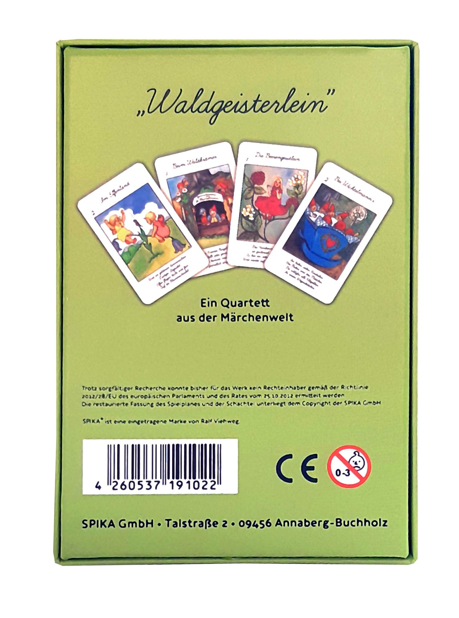 Quartett Waldgeisterlein