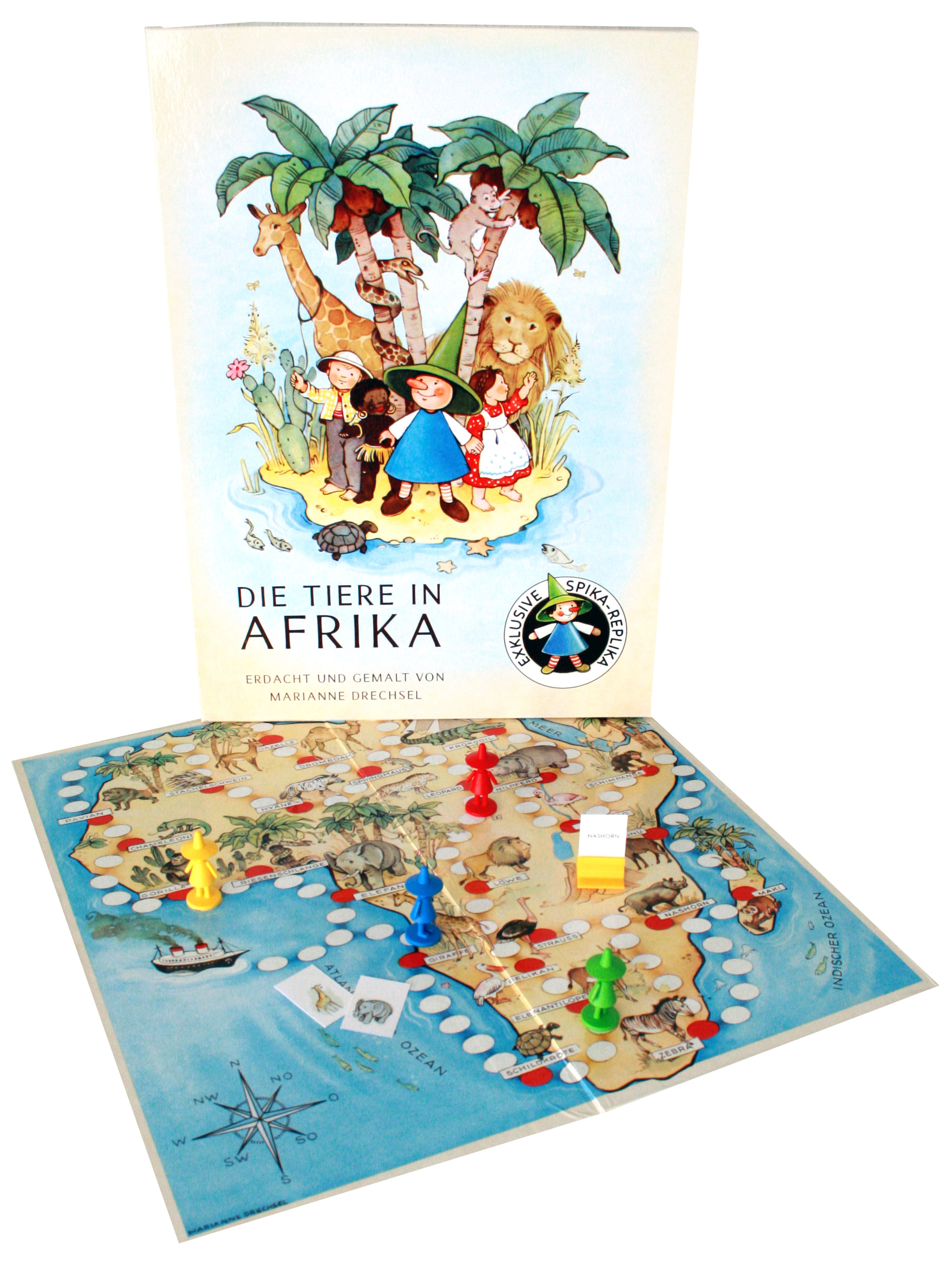 Die Tiere in Afrika XXL