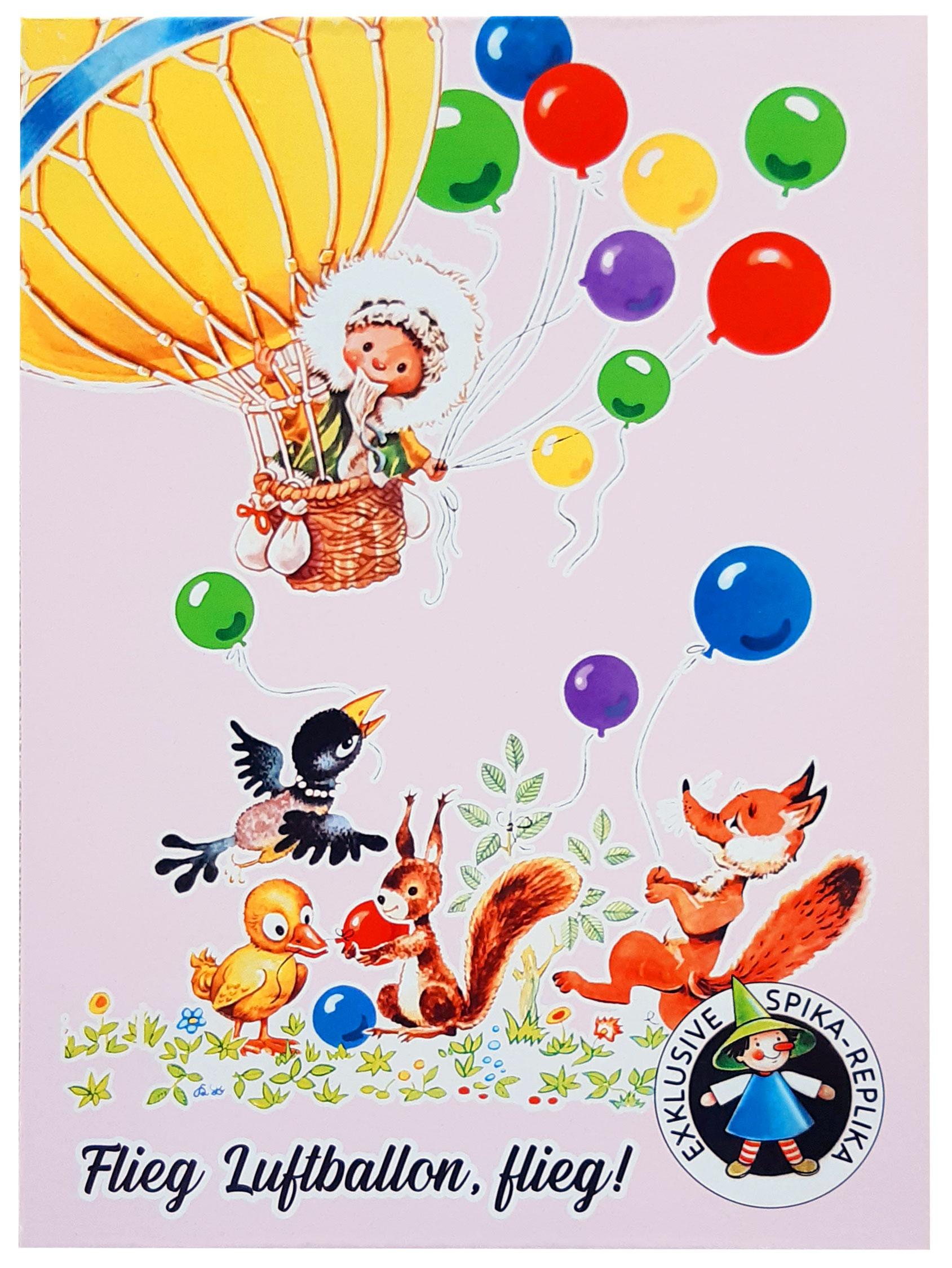 Flieg, Luftballon, flieg