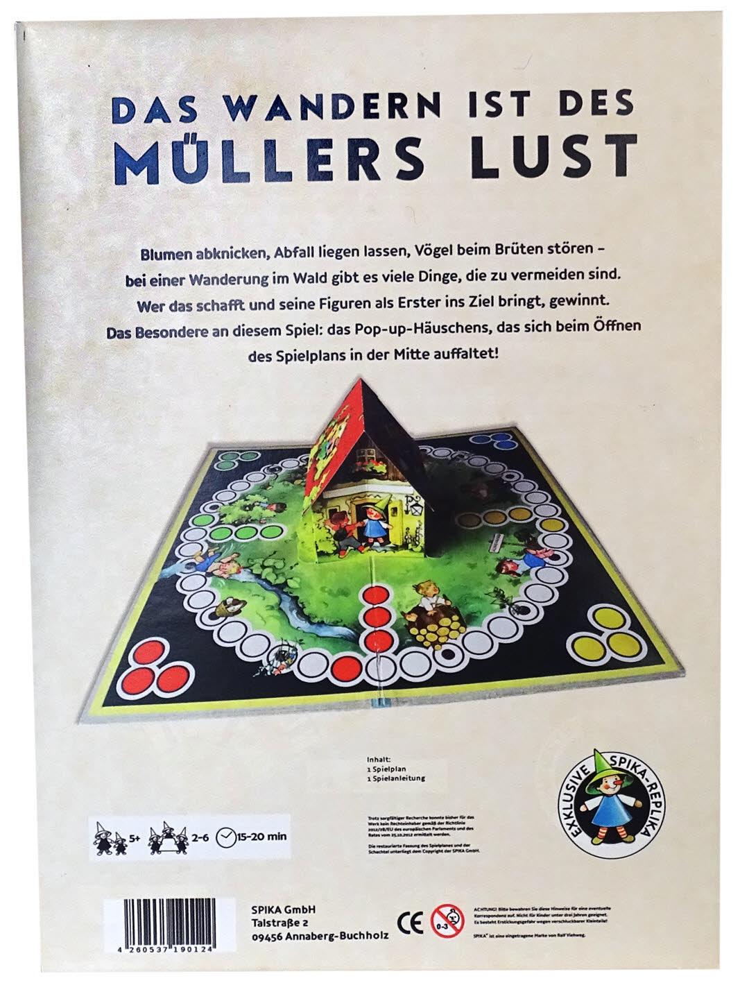 Das Wandern ist des Müllers Lust