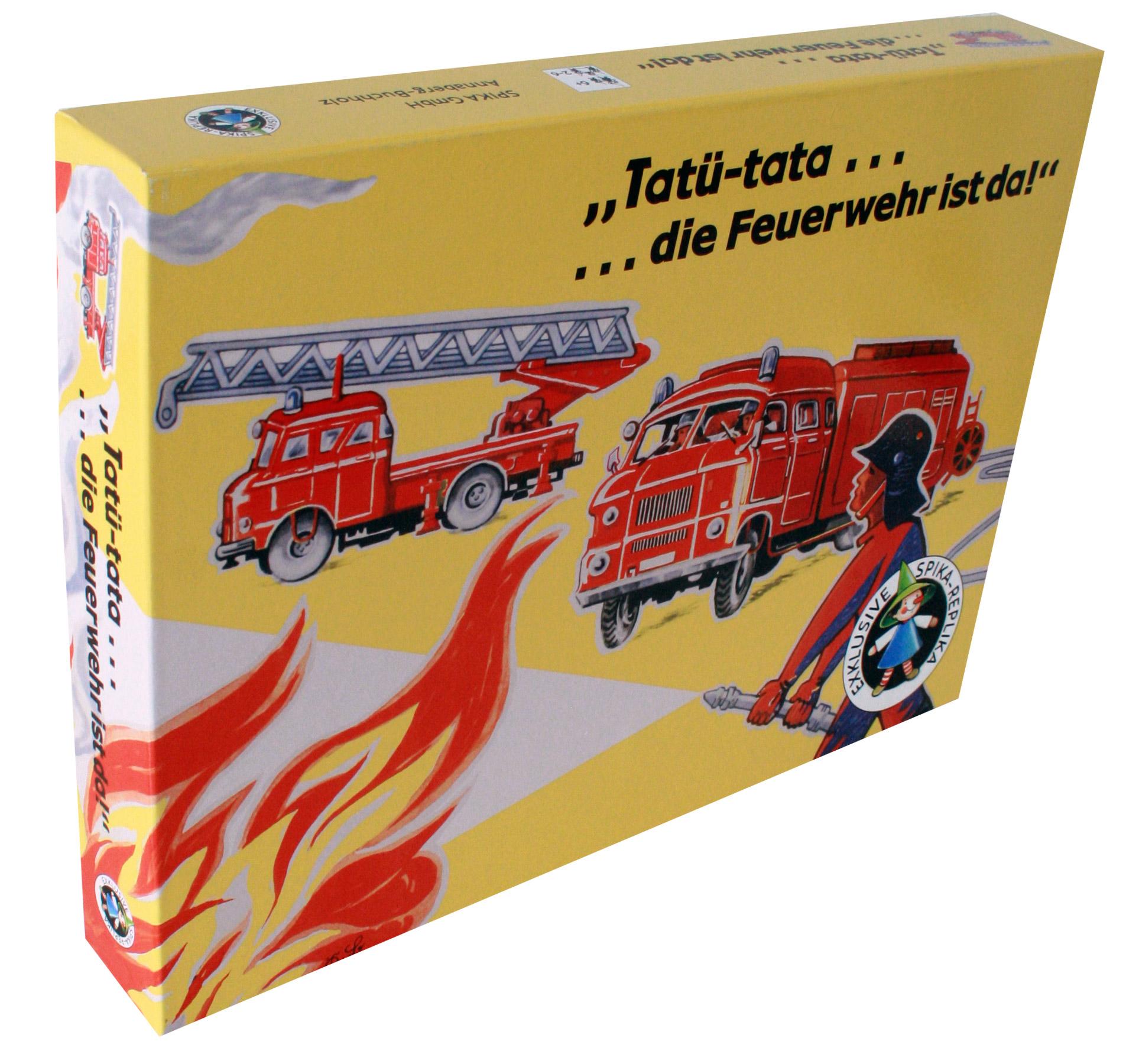 Tatü-tata..die Feuerwehr ist da